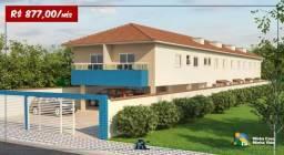 Sobrado com 2 dormitórios à venda, 53 m² por R$ 155.000 - Vila Sônia - Praia Grande/SP