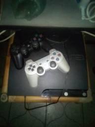 Play 3 original com um jogo