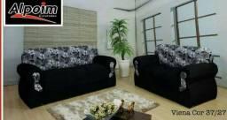 Promoção de conjunto de sofá 2 e 3 lugares!! direto da fábrica, pague no ato da entrega!!