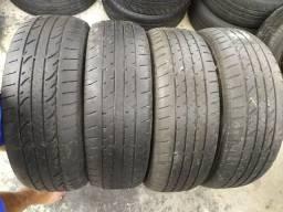 4 Pneus (215/65/16) Bridgestone, São Reabertos