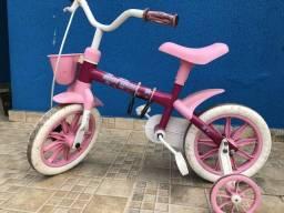 Bicicleta Mormaii Aro 12 com Rodinhas Menina