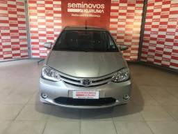 TOYOTA ETIOS 1.3 X 16V FLEX 4P MANUAL. - 2017