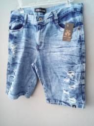 Bermudas, jeans rasgada, as top do momento disponíveis em atacado
