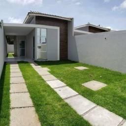 Casas planas com terreno grande, 2 suítes fino acabamento
