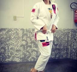 Kimono Feminino Branco _ Oficial AURUM F3