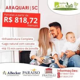 Terreno à venda em Itinga, Araquari cod:FT1271