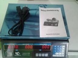 Máquina nova ( balança 40kg digital) serviço domicílio atendimento fixo garantia