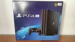 PlayStation 4 PRO 1TB modelo 7215b novo lacrado com garantia - Aceitamos seu usado