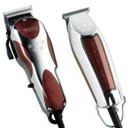 Combo Magic Clip 110v+ Detailer Wahl Cliper T-wide Bivolt