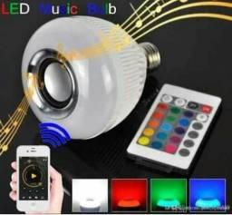 Lâmpada de música Bluetooth