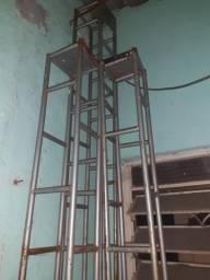 Estrutura Box Truss iluminaçao dj