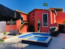 Casa 7 quartos 100m da praia em Guarajuba