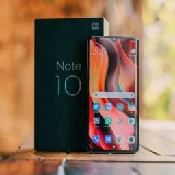Xiaomi Mi note 10 Branco 128gb 6gb ram câmera 108MP zoom óptico 5x