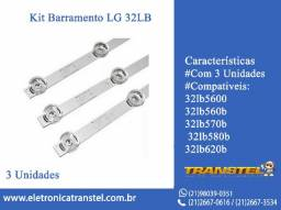 Kit Barramento LG32LB 32lb5600 32lb560b 32lb570b 32lb580b 32lb620b