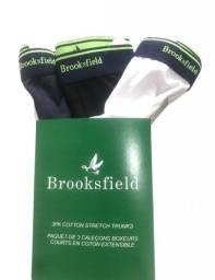 Kit 3 Cuecas Brooksfield Original - Promoção