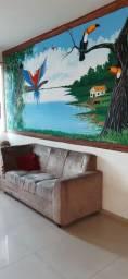 Apto mobiliado próx. a Manauara Shopping, Sefaz, TJ e Inpa com Pintura Regional