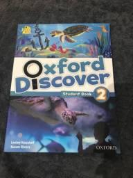 Livro Oxford discover para infantil para crianças aprender inglês