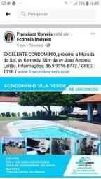 Condomínio Vila Verde, próximo Av Kennedy