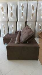 Sofá retrátil e reclinável 2,9m | NOVO