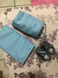 Porta mamadeira/trocador / sapato