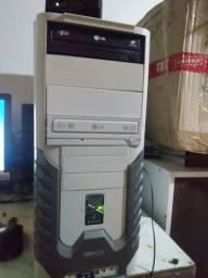 CPU core 2 dual  placa de vídeo