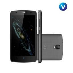 "Smartphone ZTE Blade L5 Dual Chip Android Tela 5.1"" 8GB 3G Wi-Fi Câmera 8MP - Cinza Escuro"
