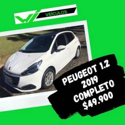 Peugeot 208 1.2 2019 Completo