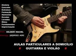Aulas Guitarra/Violão (presencial ou whats)