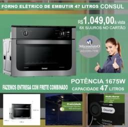 Forno Elétrico de Embutir 47 Litros Consul 220V