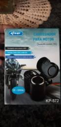 Carregador celular para motos