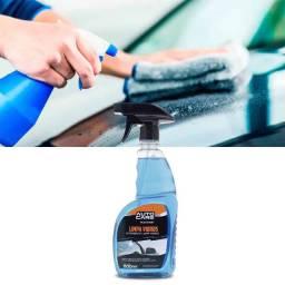 Limpa Vidros Detergente Auto Care Multilaser 500ml Remove Gordura Poeira Automotiva