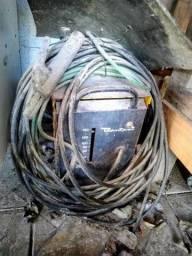 Aparelho de solda ESAB Bantan com todos os cabos e chave liga/desliga