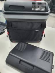 Geladeira (cooler portátil 12v) com função de aquecimento