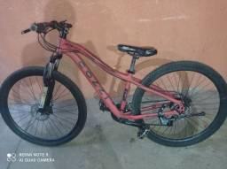 Bicicleta aro 29 freio a óleo