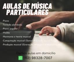 Aulas de música particulares