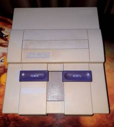 Super Nintendo só o Console