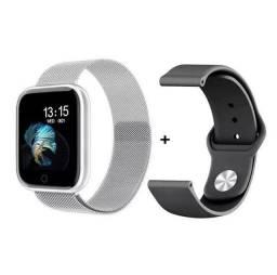 Smartwatch T80 Prata Original