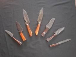 Título do anúncio: Coleção de facas forjadas artesanalmente
