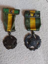 Título do anúncio: Medalhas militares   de 10 e 20 anos de Bons Serviços