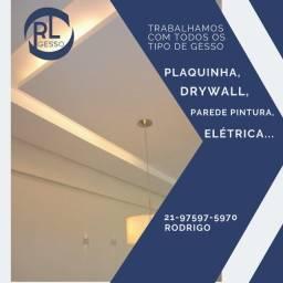 Título do anúncio: Rebaixamento de teto com Drywall