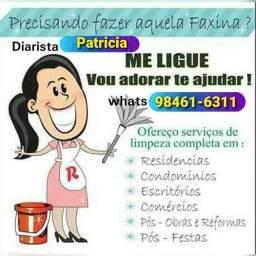 Título do anúncio: Faxineira / diarista