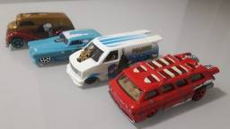 Hot Wheels Snoopy Temáticos lote com 4 unidades