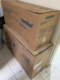 Ar condicionado na caixa !!!