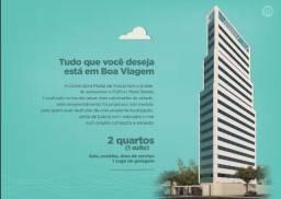 JL-More a 50m da Praia de Boa Viagem, 2 quartos, suíte, 1 vaga
