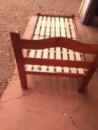 Cama madeira solteiro