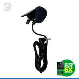 Título do anúncio: Microfone Lapela P2 para Gravação - Celular PC Notebook Tablet - Com prendedor