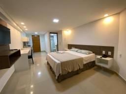 Flat com 1 quarto à venda, 29 m² por R$ 264.900 - Cabo Branco - João Pessoa/PB