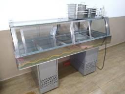 Buffet Self-Service Quente 10 Cubas 220 v Seminovo