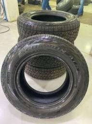 Jogo de pneu 265/65/17 pirrelli semi novo
