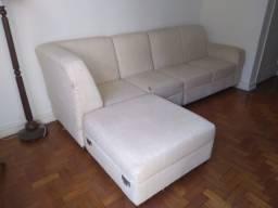 Ótimo sofá modulado